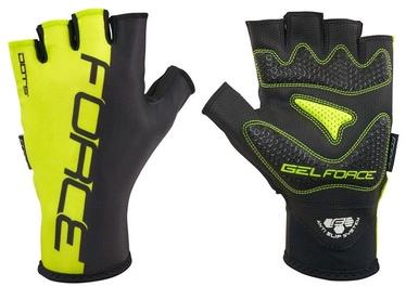 Force Dots Short Gloves Yellow Black XXL