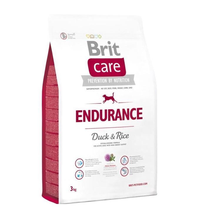 Kuivtoit koertele Brit Care Endurance, 3 kg