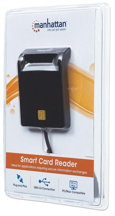 Картридер Manhattan 102049 Smart Card Reader