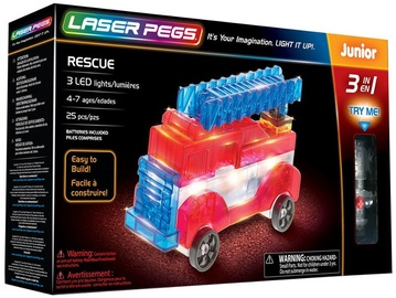 Laser Pegs 3 In 1 Rescue