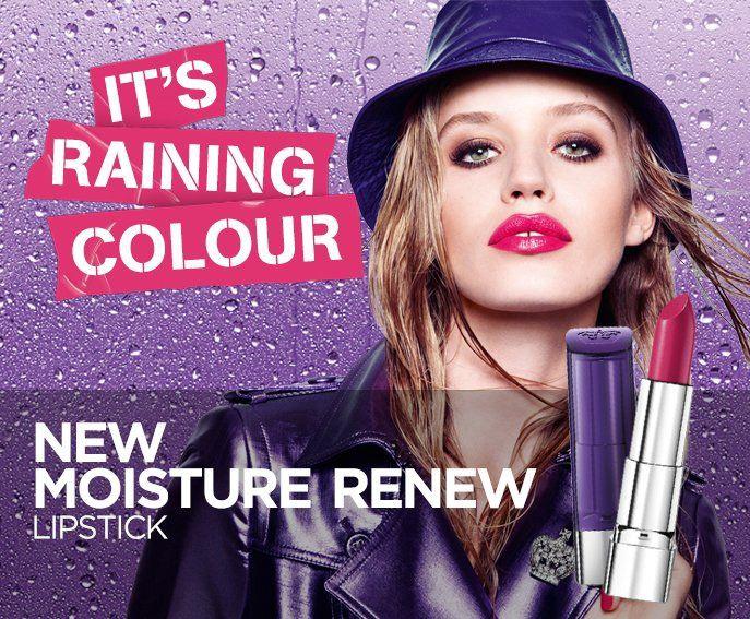 Rimmel London Moisture Renew Lipstick 4g 330