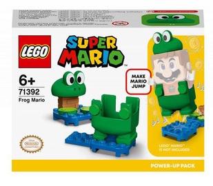 Конструктор LEGO Super Mario Набор усилений «Марио-лягушка» 71392, 11 шт.