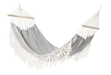 Home4you Lazy Grey Cotton Hammock Grey