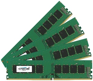 Crucial 32GB 2133MHz DDR4 CL15 DIMM KIT OF 4 CT4K8G4DFS8213