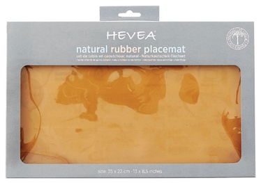 Hevea Placemat Natural 35x22cm