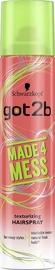 Schwarzkopf Got2b Made 4 Mess Hairspray 275ml