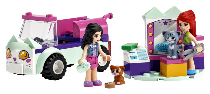 Constructor LEGO Friends Cat Grooming Car 41439