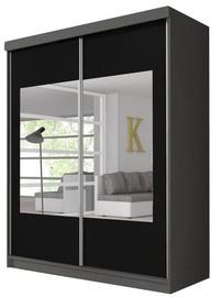 Idzczak Meble Wardrobe Multi 3 Graphite/Black