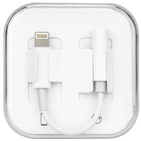 HQ Adapter Lightning To 3.5mm Audio Headphone Jack Adapter 9cm White