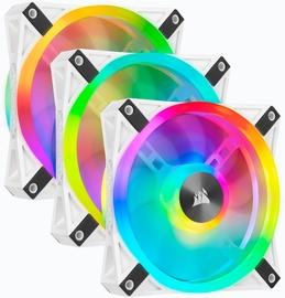 Corsair iCUE QL120 RGB PWM Fan 120mm White 3pcs
