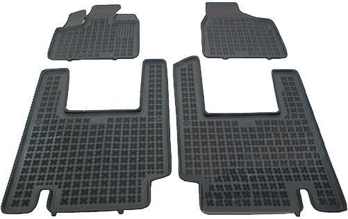 Резиновый автомобильный коврик REZAW-PLAST Chrysler Voyager V 5 Seats 2006, 4 шт.