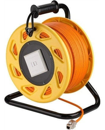 Goobay Portable Network Cable Reel Extension 50m