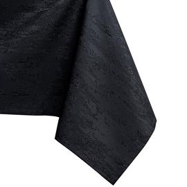 Скатерть AmeliaHome Vesta, черный, 1400 мм x 3400 мм