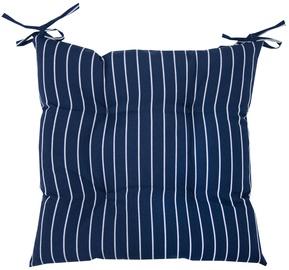 Home4you Chair Pad 40x40cm Summer Blue