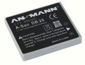 Ansmann A-San DB 20 600mAh