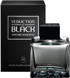 Tualetes ūdens Antonio Banderas Seduction in Black 50ml EDT