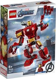 Konstruktorius LEGO®Super Heroes 76140 Geležinio žmogaus robotas