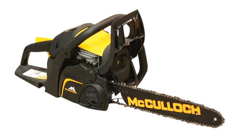 Benzininis grandininis pjūklas McCulloch CS380, 1400 W