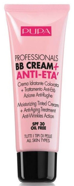 Pupa BB Cream + Anti-Eta SPF30 50ml 001