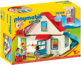 Playmobil 1-2-3 Family House 70129