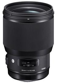 Objektiiv Sigma 85mm f/1.4 DG HSM Art For Sony E, 1130 g