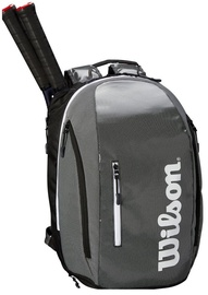 Wilson Super Tour Backpack Black/Grey