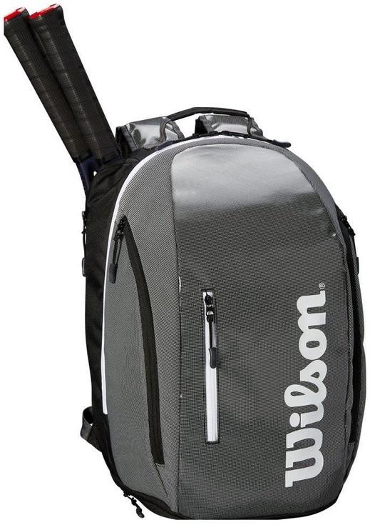 Wilson Super Tour Backpack Black/Grey