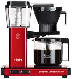 Капсульная кофемашина Moccamaster KBG 741, черный