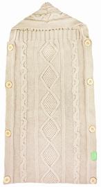 Lulando Knitted Sleeping Bag Beige 70x35cm