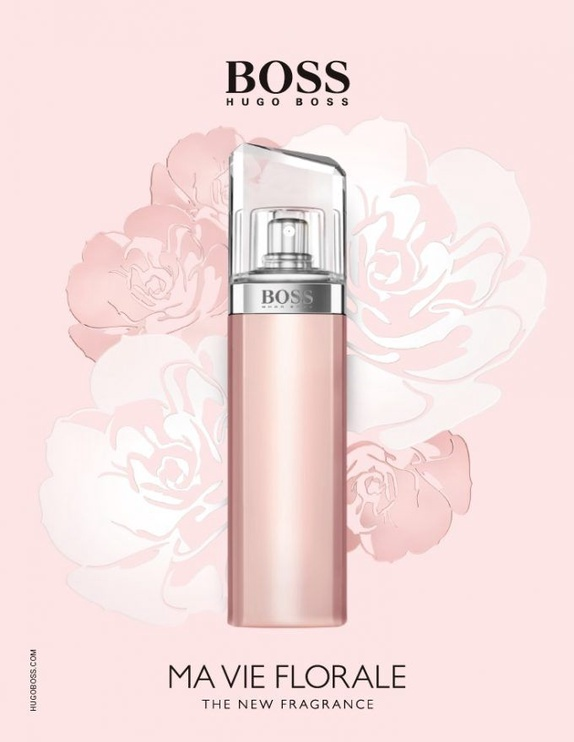 Kvepalai Hugo Boss Boss Ma Vie Pour Femme Florale 50ml EDP