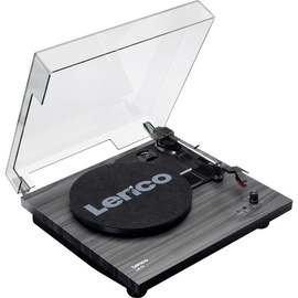 Lenco LS-10 Turntable With Build In Speakers Black