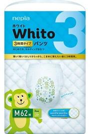 Autiņbiksītes Whito Diapers Pants, M, 62 gab.