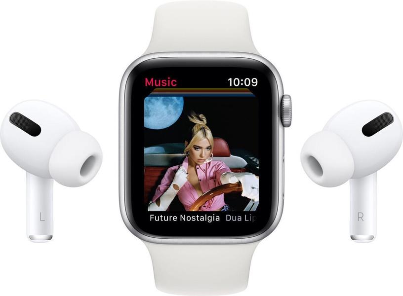 Nutikell Apple Watch Series 6 GPS LTE 40mm Aluminum, must/hall