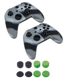Piranha 2x Controller Skins And 4 x 4 Grips Pack
