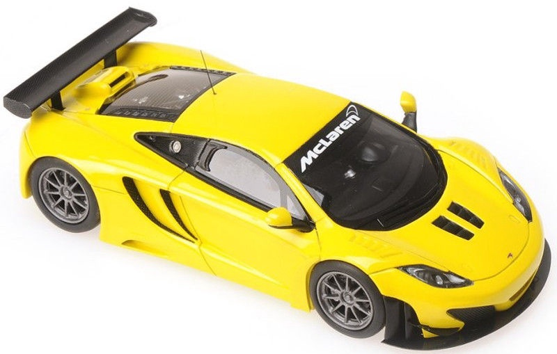 Minichamps McLaren MP4-1 2C GT3 Yellow