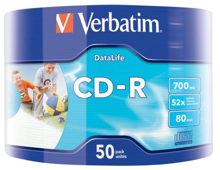 Verbatim CD-R 700MB 52x 50pcs