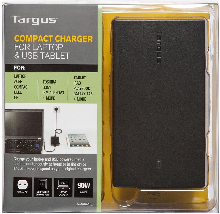 Targus Compact Laptop And USB Tablet Charger