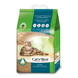 Kačių kraikas Cats Best Sensitive 20 l