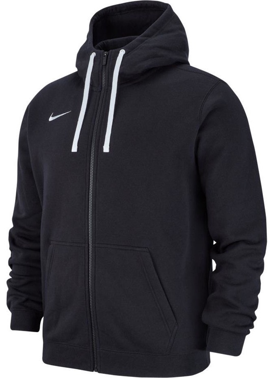 Nike Men's Sweatshirt Team Club 19 Full-Zip Fleece AJ1313 010 Black S