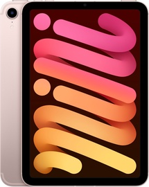 "Planšetdators Apple iPad mini 6, rozā, 8.3""/256GB, 3G, 4G"