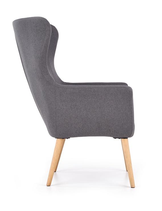 Fotelis Halmar Cotto Cotto Leisure Dark Grey, 76x73x99 cm