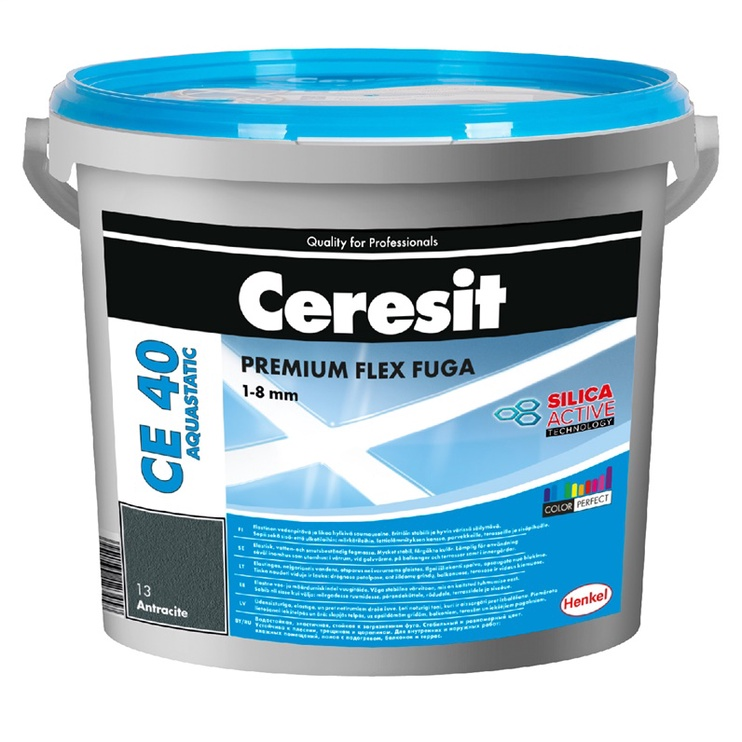 Elastingas glaistas siūlėms Ceresit CE40/14 PLATINUM, 5 kg