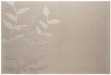 Banquet Table Mat Leaf Beige 45x30cm