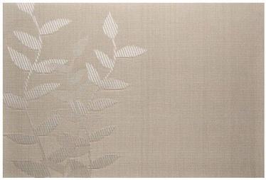 Banquet Table Mat Leaf Beige 45x30cm