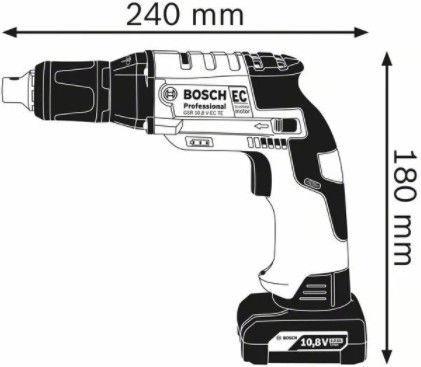 Bosch GTB 12V-11 Cordless Screwdriver without Battery