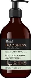 Baylis & Harding Goodness Hand Wash 500ml Oud/Cedar/Amber