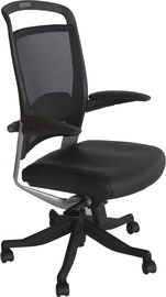 Biroja krēsls Home4you Fulkrum 927, melna