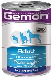 Monge Gemon Adult Light Paté With Tuna 400g
