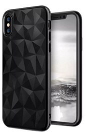 Blun 3D Prism Shape Back Case For Samsung Galaxy J4 Plus J415 Black