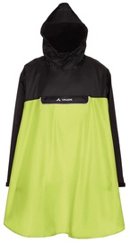 Vaude Valero Poncho Yellow Black L